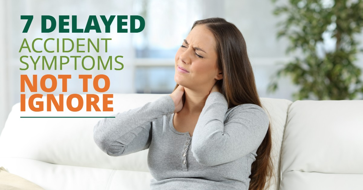 7 Delayed Accident Symptoms Not To Ignore
