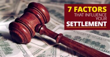 7 Factors That Influence Your Settlement -KendraLong