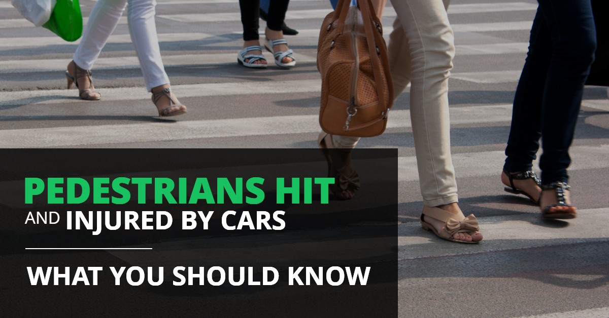 Pedestrians Hit And Injured By Cars – What You Should Know